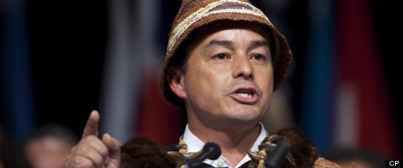 SHAWN ATLEO REELECTED