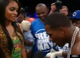 Adrien Broner Pranks Girlfriend, Arie Nicole, With A Fake Marriage ...