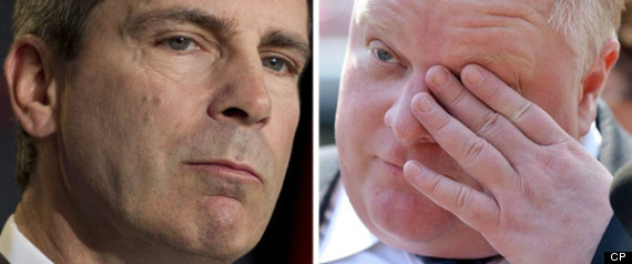 TORONTO GUNS MCGUINTY ROB FORD