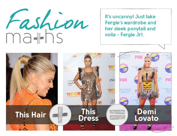 demi lovato fashion maths