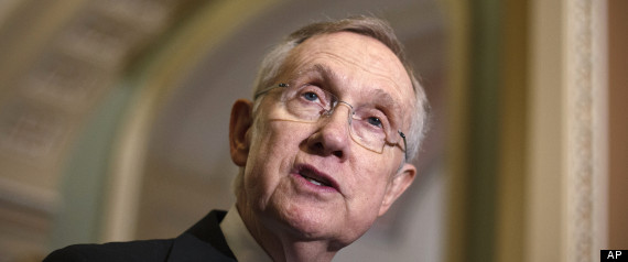 Harry Reid Senate Gun Control