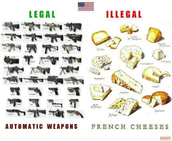 french cheese guns