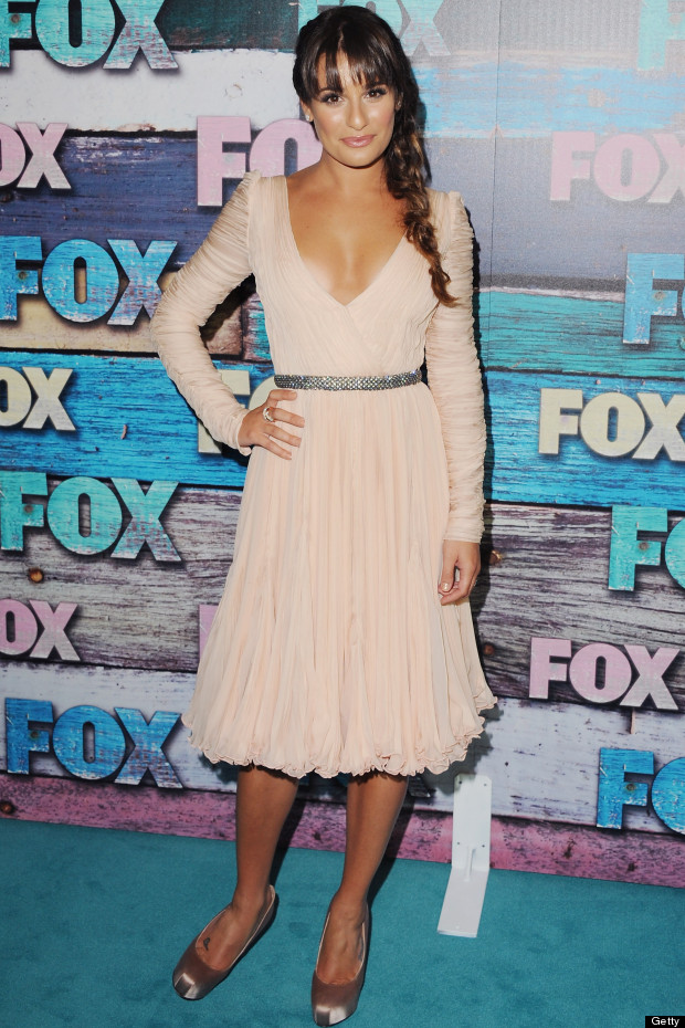 lea michele fox all star party