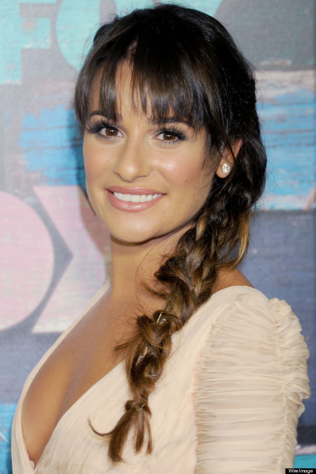 lea michele fox party glee