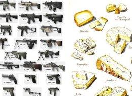 Pourquoi il est plus facile d'acheter des armes à feu que du fromage français aux États-Unis