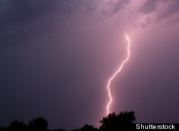 Lightning Strikes Amish Woman