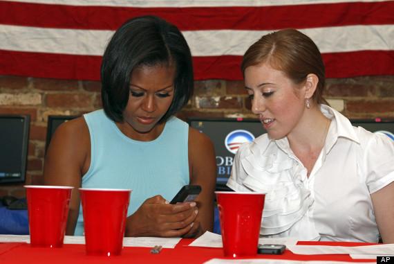 michelle obama phone