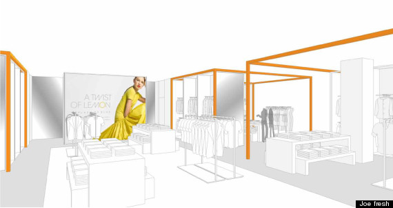 joe fresh shop at jcpenney rendering