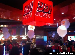 LOOK: British Sushi Chain Opens 1st U.S. Outpost