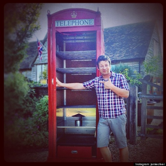 jamie oliver phone booth smoker