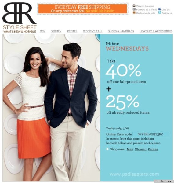 banana republic photoshop fail