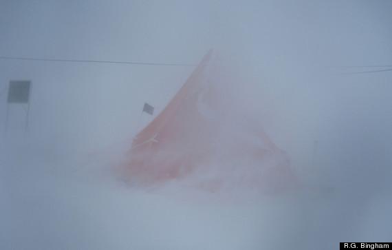 ferrigno glacier tent