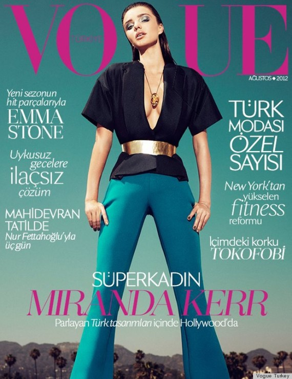 miranda kerr vogue turkey