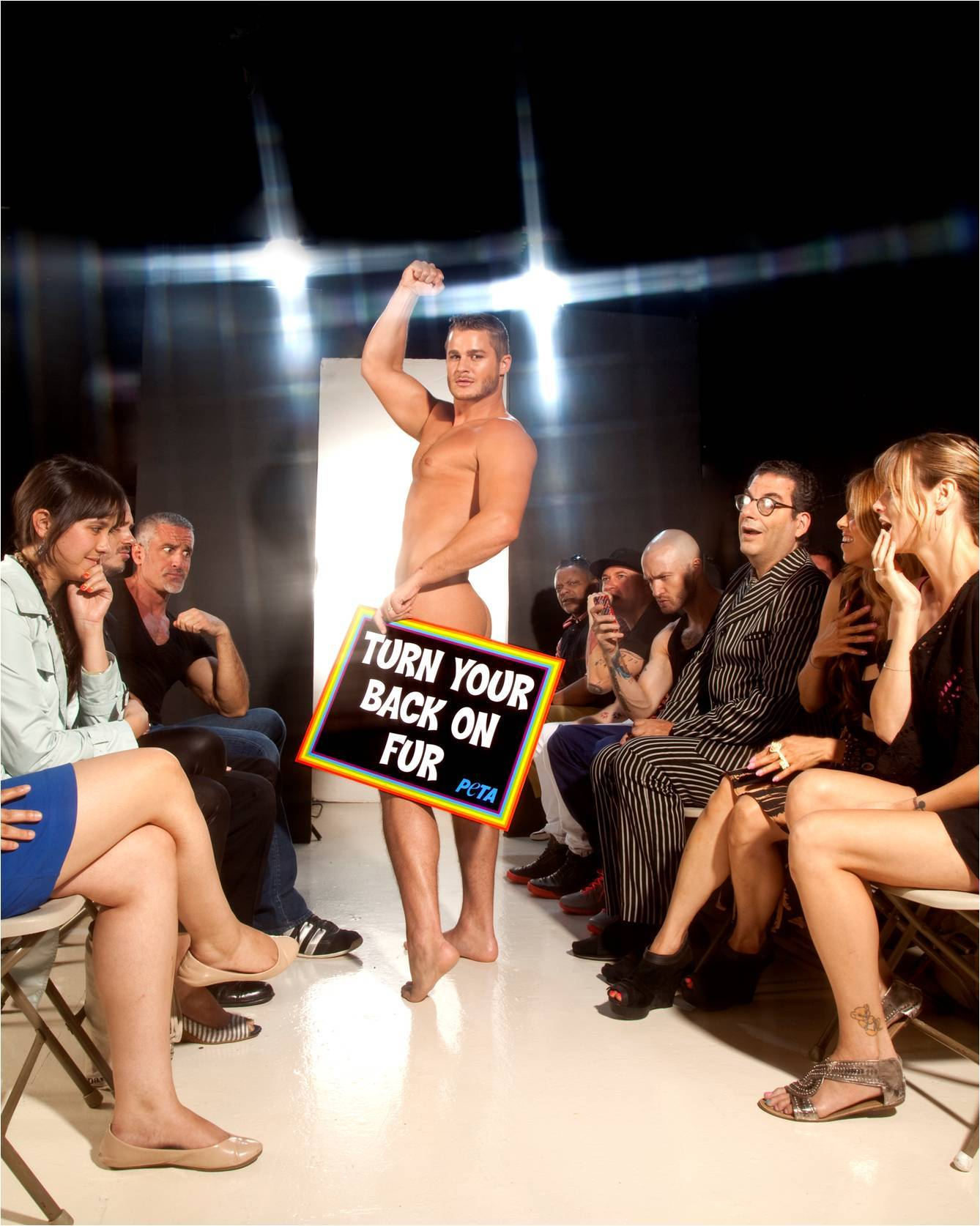 Austin Armacost Marc Jacobs E Boyfriend Gets Naked For Peta And