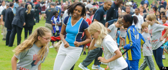 MICHELLE OBAMA OLYMPICS