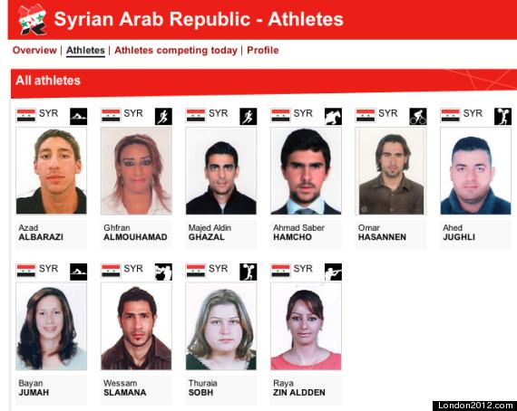 syria olympics