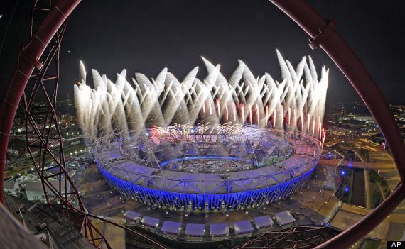 olympics fireworks
