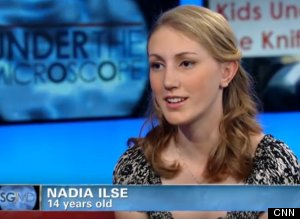 Nadia Ilse, Bullied Georgia Teen, Receives Free Plastic Surgery ...