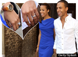 Newlyweds Rochelle And Marvin Step Out (PICS)