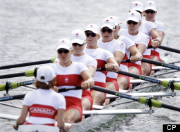 Canada Women Eight Rowing