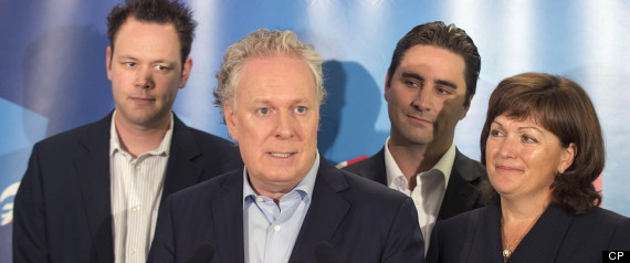 CHAREST NEW CANDIDATES