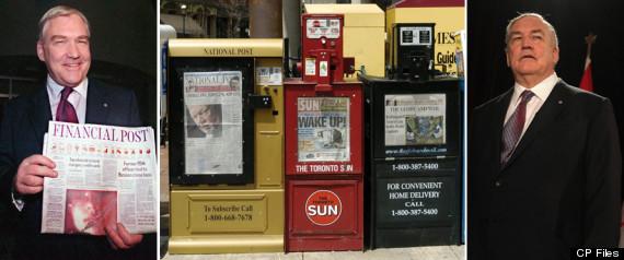 CONRAD BLACK NEWSPAPERS CANADA