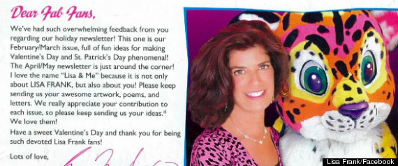 Lisa Frank Newsletter Photo