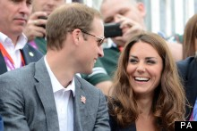 The Duke And Duchess Of Cambridge Plus 'Third Wheel' Watch On As Zara Snags Medal