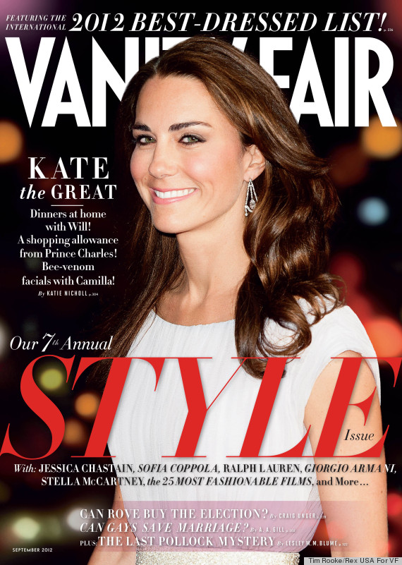 vanity fair bestdressed list 2012