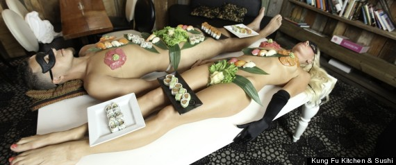 NAKED SUSHI AT KUNG FU