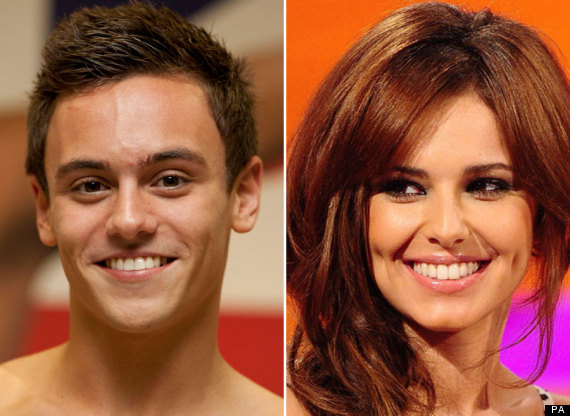 cheryl cole tom daley