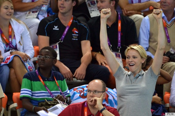 Princess Charlene & Prince Albert Get (Sorta) Cozy On The Olympic