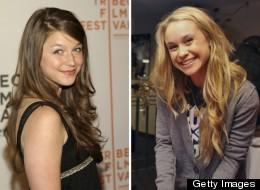 Melissa Benoist And Becca Tobin Glee