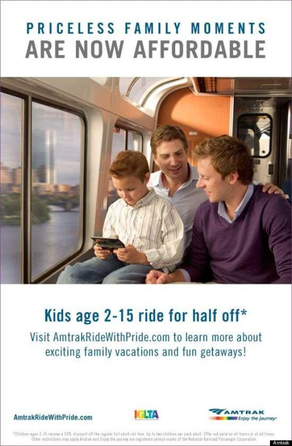 gay amtrak ad ii