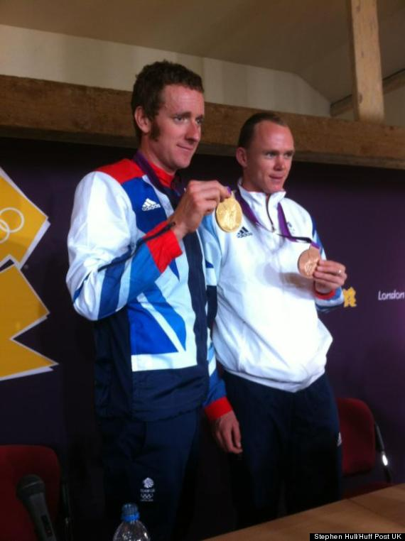 wiggins and froome