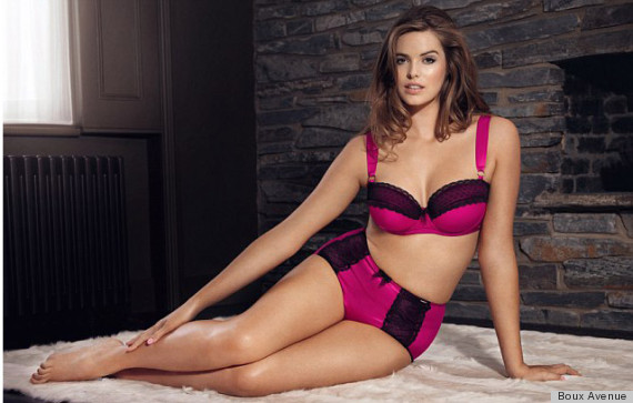 Robyn Lawley Is The New Face Of Plus-Size Lingerie Line Boux Avenue