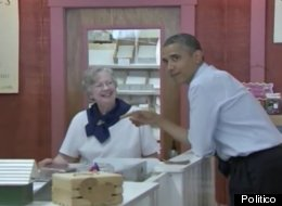 Student Working Ohio Candy Shop Has Sweet Dream Predicting President's Visit