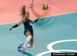Brazil Volleyball Kick Save: The Most Unexpected Play Of ...