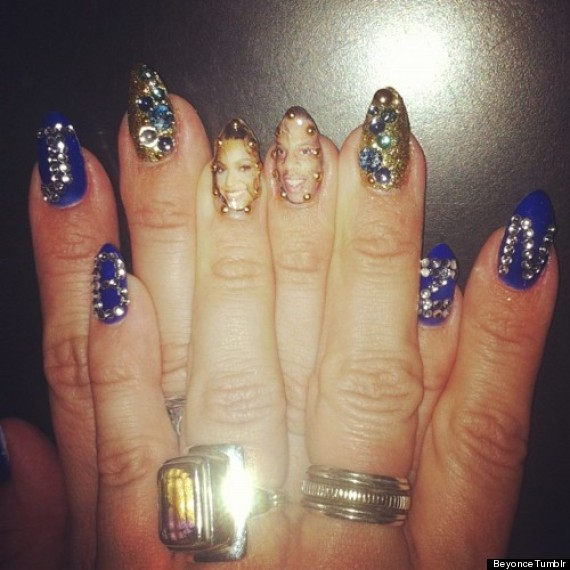 Beyonce shares crazy nail art design on her tumblr page photo poll