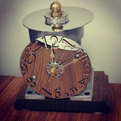 diy clock car parts
