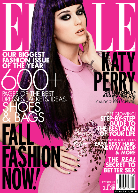 katy perry elle relationships
