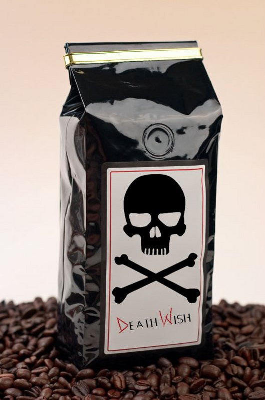 death wish coffee caffeine