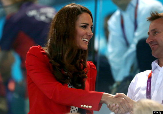 kate middleton olympic change up