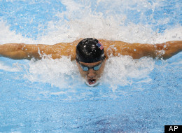 Michael Phelps London Olympics 2012 Gold