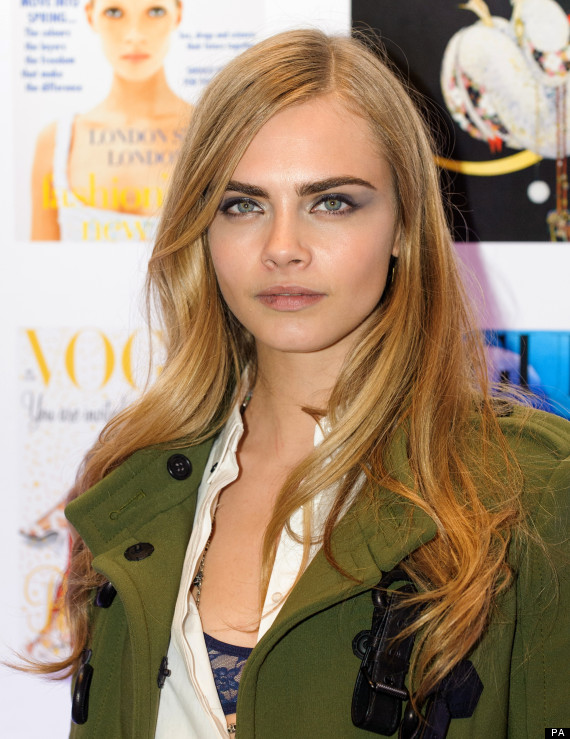 One Direction's Harry Styles Dating Burberry Model Cara Delevingne?