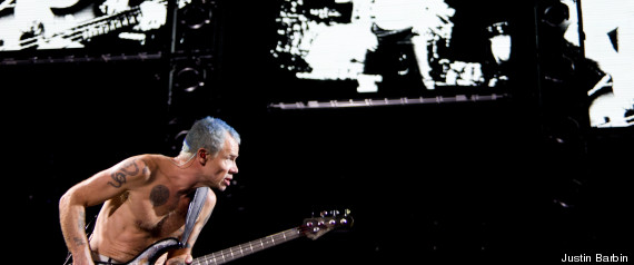 LOLLAPALOOZA 2012 RED HOT CHILI PEPPERS STORM