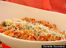 WATCH: Chef Danielle Whips Up Risotto Jambalaya And More Weeknight Recipes For Back To School