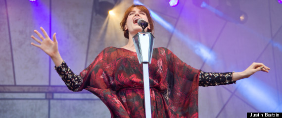 LOLLAPALOOZA PHOTOS JACK WHITE FLORENCE WELCH