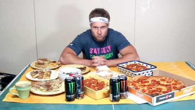 michael phelps diet challenge furious pete competitive