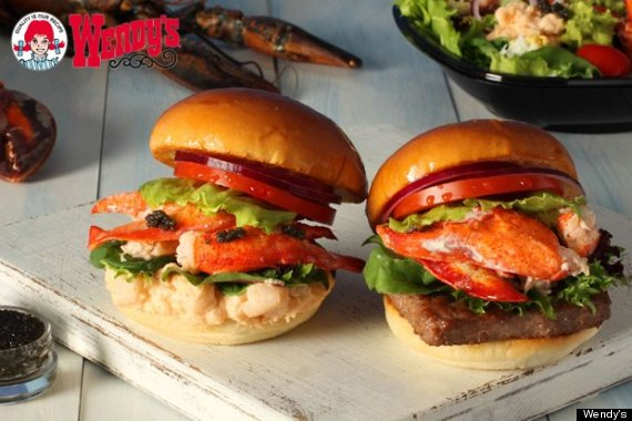 wendys lobster burger